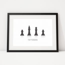 Personalised Prints UK Family Framed Gift