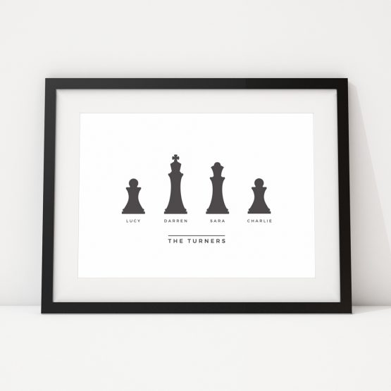 Personalised Prints UK Family Framed Gift